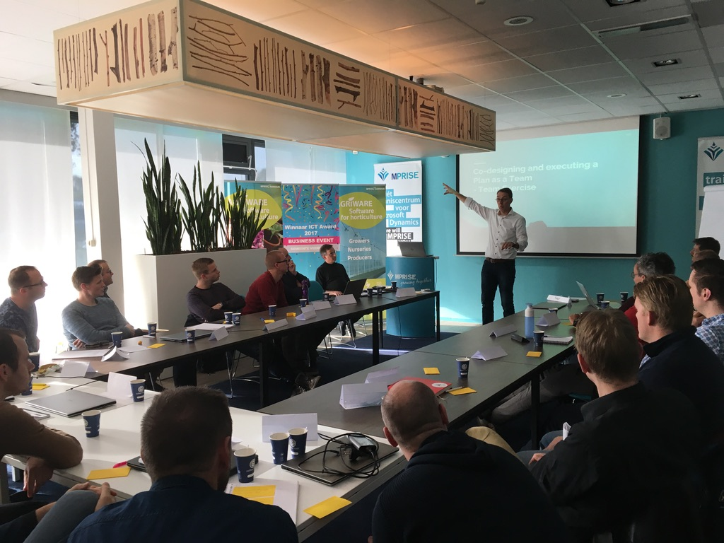 Open training Management & Communicatie